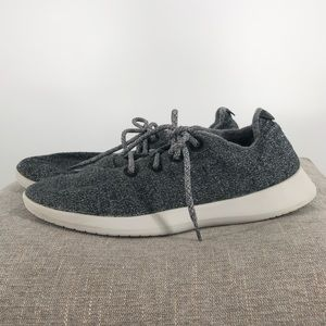 Mens Allbirds Wool Runners Grey Size 13